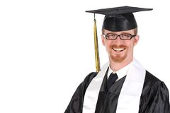 Happy graduation a young man Stock Photography