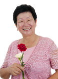 Happy grandmother Royalty Free Stock Image