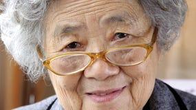 Happy grandmother Stock Photos