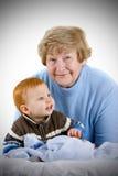 Happy Grandmother Royalty Free Stock Photo
