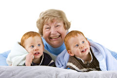 Happy Grandmother Royalty Free Stock Images