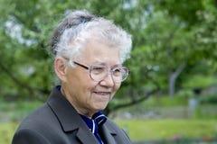 Happy grandmother Stock Image