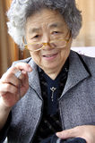 Happy grandmother Stock Photography