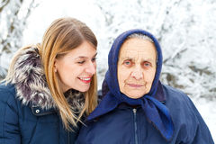 Happy grandmother Royalty Free Stock Photos