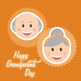 Happy grandparents day Stock Photography
