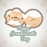 Happy grandparents day Stock Photo