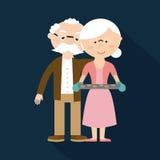Happy grandparents day Stock Photos
