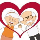 Happy grandparents day Stock Image