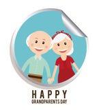 Happy grandparents day Royalty Free Stock Photo