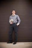 Happy groom Stock Photography