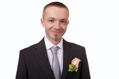 Happy groom Stock Photo