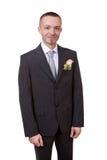 Happy groom Stock Image