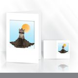 Happy Groundhog Day Royalty Free Stock Photos