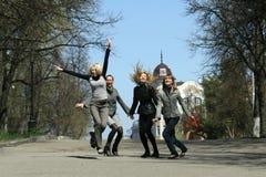Happy group Royalty Free Stock Photos