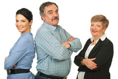 Happy group of business people Stock Photography