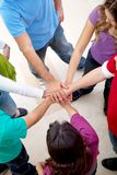 Happy group of friends Royalty Free Stock Photo