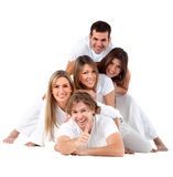 Happy group of friends Stock Image