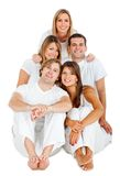 Happy group of friends Stock Photos