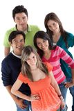 Happy group of people Stock Image