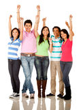 Happy group of people Stock Photography