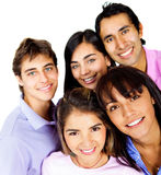 Happy group of people Royalty Free Stock Images