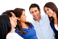 Happy group of people Royalty Free Stock Image