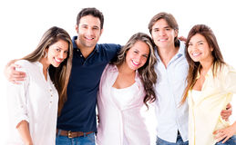 Happy group of people Royalty Free Stock Photography