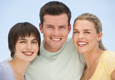 Happy Group Smiling Royalty Free Stock Image