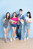 Happy group student Royalty Free Stock Images