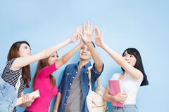 Happy group student Royalty Free Stock Photography