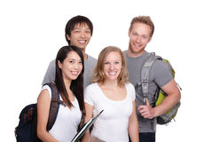 Happy Group of student Stock Photo
