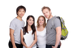 Happy Group of student Royalty Free Stock Photo