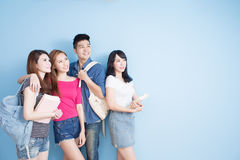 Happy group student Stock Images