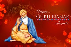 Happy Gurpurab, Guru Nanak Jayanti festival of Sikh celebration background. Illustration of Happy Gurpurab, Guru Nanak Jayanti festival of Sikh celebration vector illustration