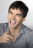 Happy guy Stock Image