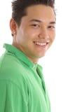 Happy guy headshot Stock Photography