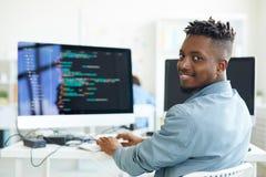 Testing software royalty free stock photos