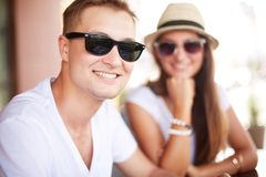 Happy guy Royalty Free Stock Images