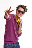 Happy guy. Royalty Free Stock Photos