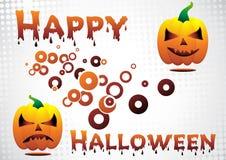 Happy Halloween. Vector Happy Halloween. Clip-art Royalty Free Stock Image