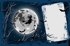 Happy Halloween. Illustration vector background, Happy Halloween, enter your text Stock Photos