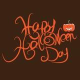 Happy Halloween art. Illustration Happy Halloween black day Royalty Free Stock Photography