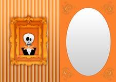 Happy halloween back Royalty Free Stock Photos