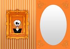 Happy halloween back Stock Images