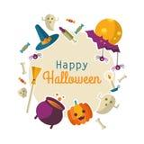 Happy Halloween backgraund Royalty Free Stock Image