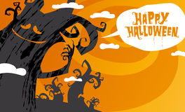 Happy halloween background. Stock Image