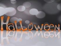 Happy Halloween Background - 3d Stock Image