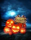 Happy Halloween Background Royalty Free Stock Photos
