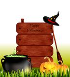 Happy halloween background Royalty Free Stock Image