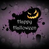 Happy halloween. Background pumpkin banner illustration Stock Photo